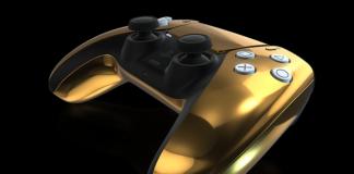 PS5 DualSense kuldne