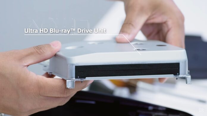 PS5 Ultra HD Blu-ray Drive