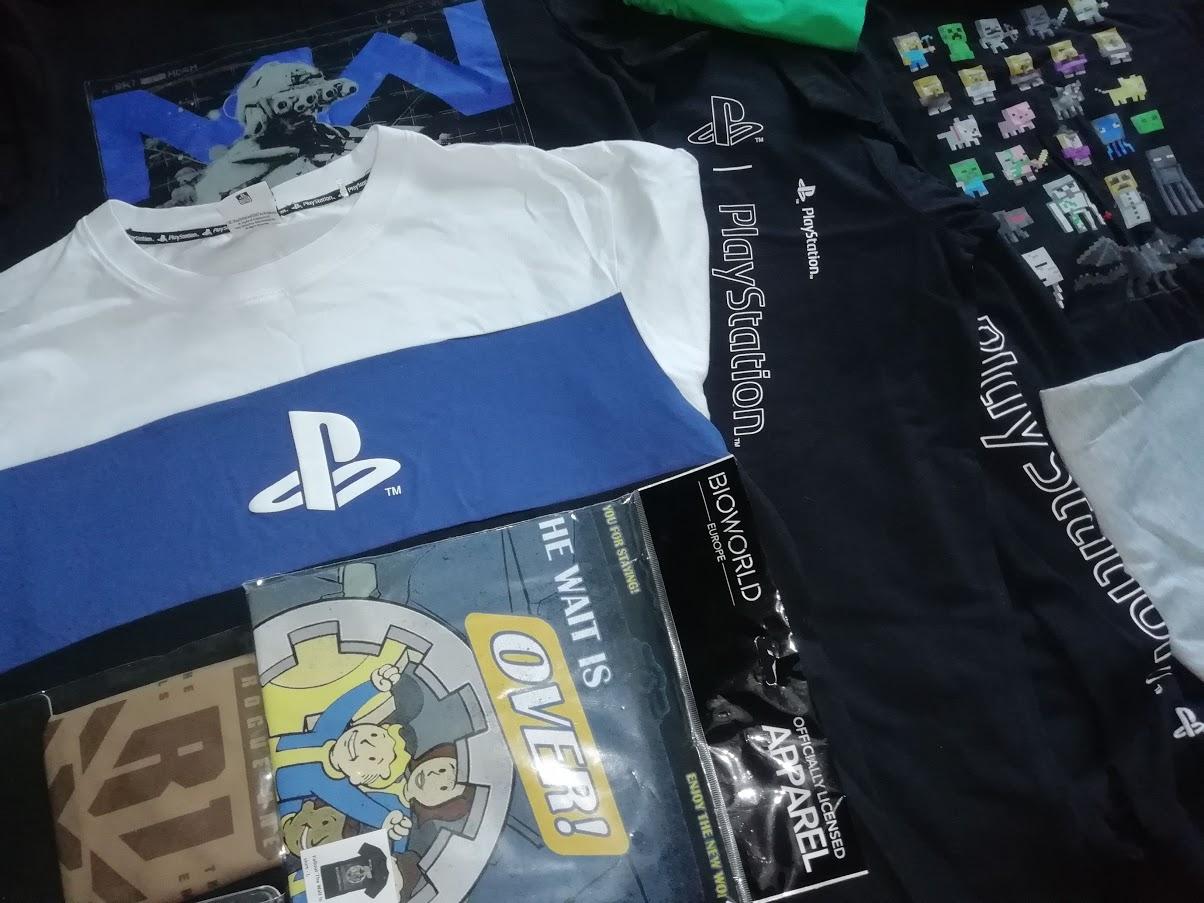 särgid t-shirt PlayStation