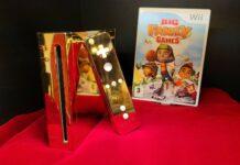 24 Karat Golden Nintendo Wii