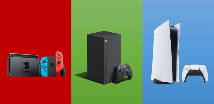 PS5 Xbox Series X Nintendo Switch