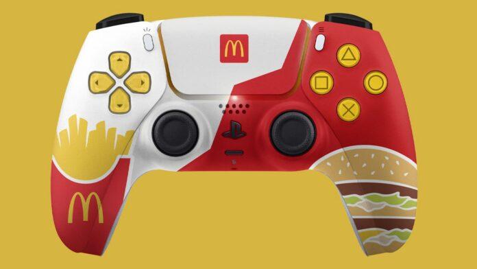 McDonald's PS5 pult