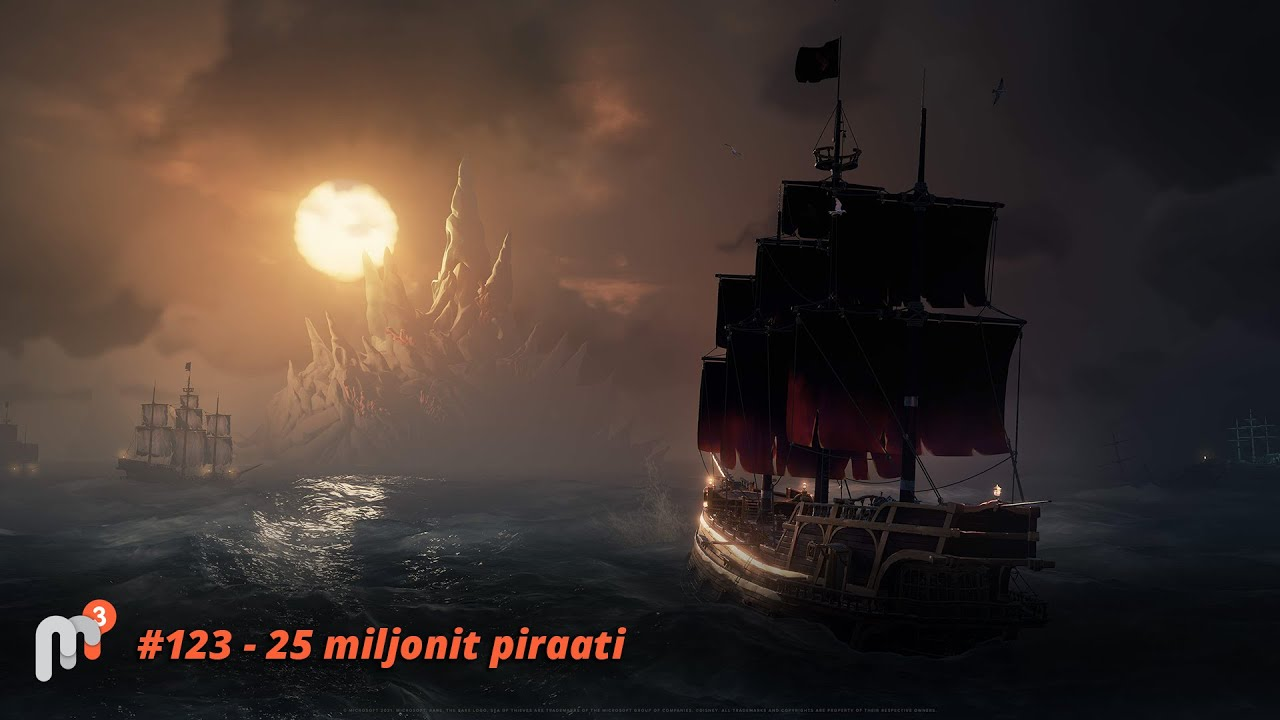 Meile Meeldib Mängida #123 – 25 miljonit piraati